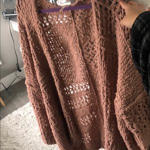 Free people open front cardigan